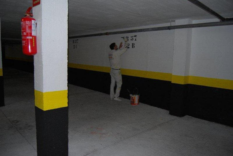 Pintura de Garajes