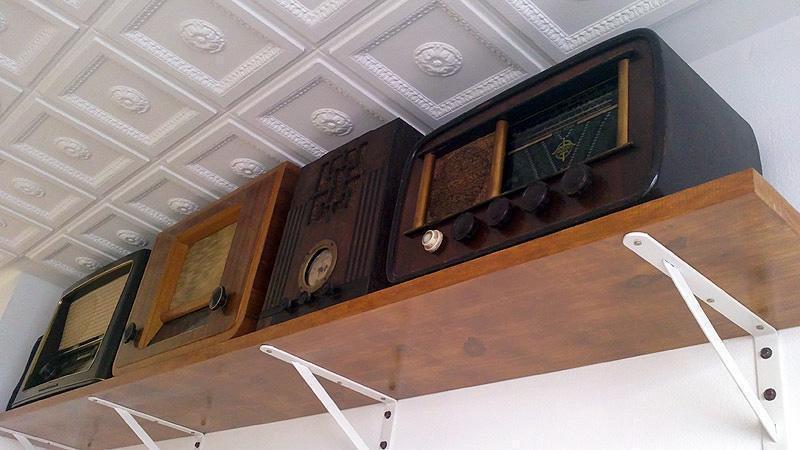 Algunas de nuestras radios de colección.