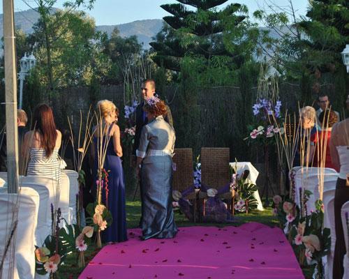 Ceremonia civil finca almodóvar exterior