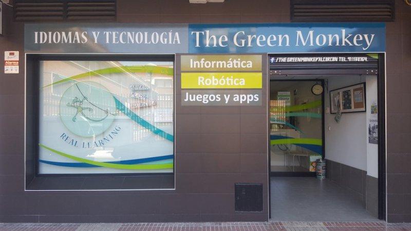 Fachada The green monkey alcorcon Idomas + Tecnologia