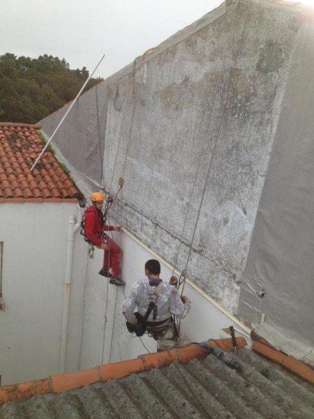 Sergama, rehabilitación de fachadas en Pontevedra