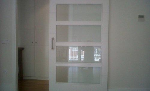 puerta corredera cocina