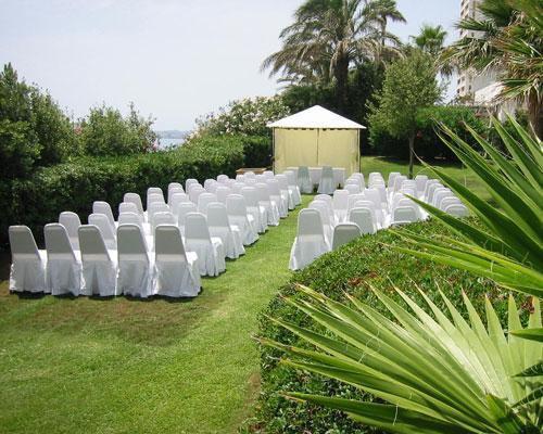 Ceremonia en jardin secreto