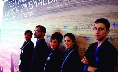 Azafatas LANKOR para el Festival de Cine de San Sebastián