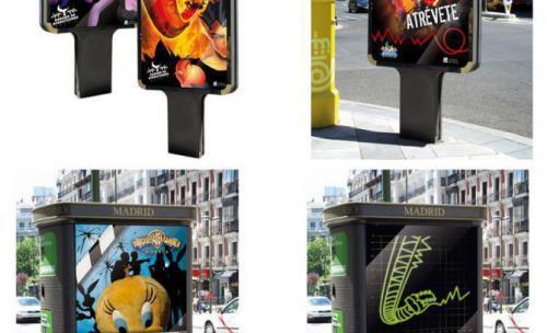 Publicidad exterior Parque de atracciones