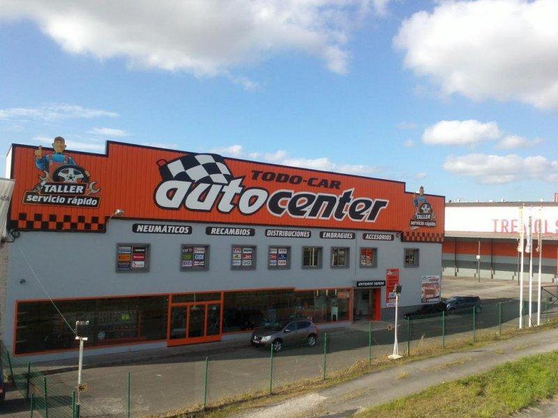 Fachada Todocar autocenter