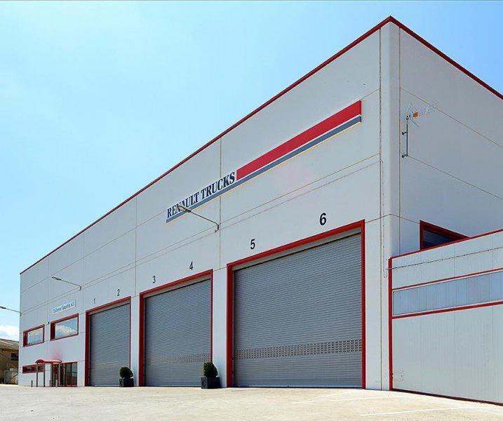 Teckendoor. puertas enrollables para la industria
