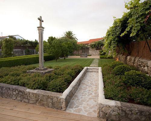 Imagen de los jardines del pazo