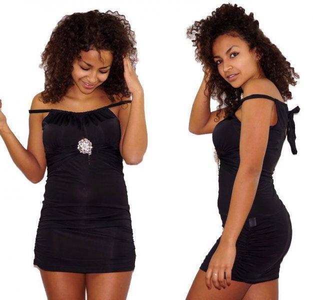 Mini vestido o top largo de licra rebajado a 12,50 euros
