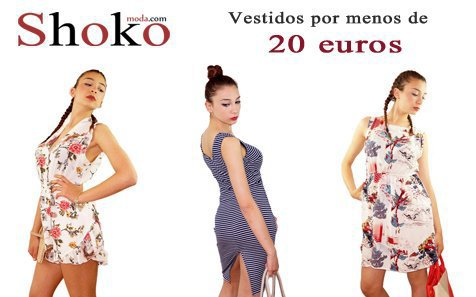 Vestidos primaverales, monos cortos estampados, moda para diario.. por menos de 20 euros