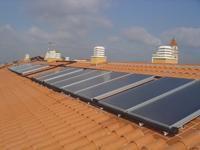 Instalación solar térmica colectiva