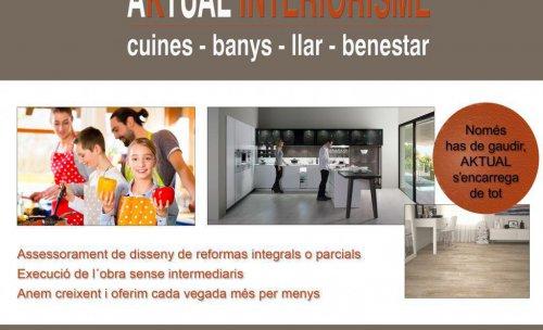 FAÇANA PRINCIPAL AKTUAL CUINES I BANYS