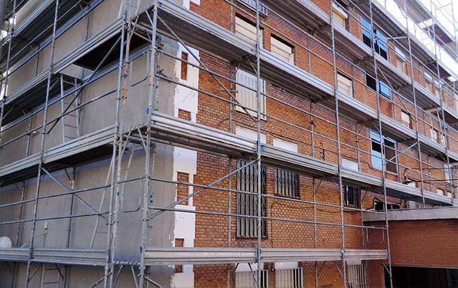 rehavilitaciones de fachadas