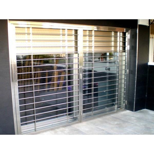 Puertas acero inox