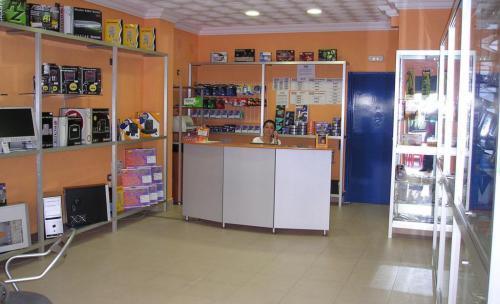 Fotografía interior tienda