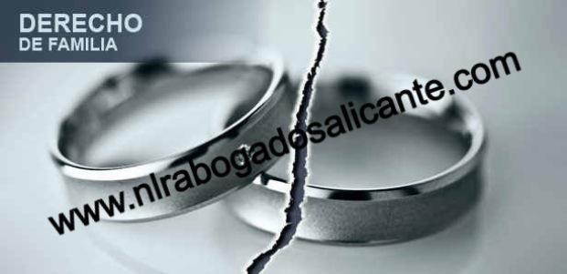 Abogados en alicante especialistas en derecho de familia divorcios