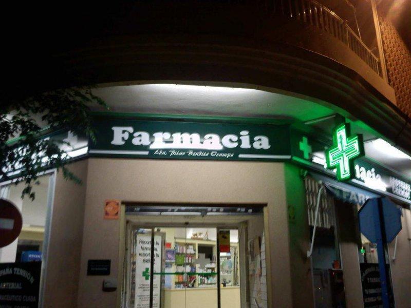 ILUMINACION DE FARMACIA