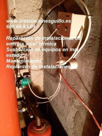 Reparaciones de energía solar térmica