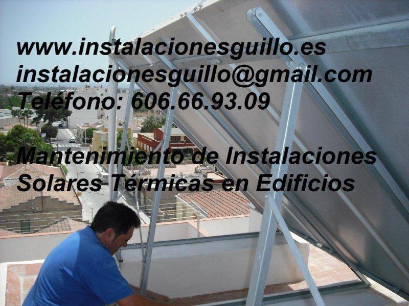 Mantenimientos de energía solar en Alicante