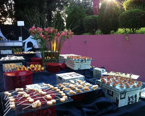 Restauracion a cargo del prestigioso mónico catering