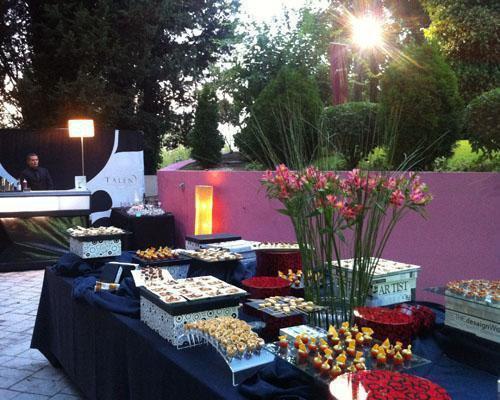 Montaje buffet exterior