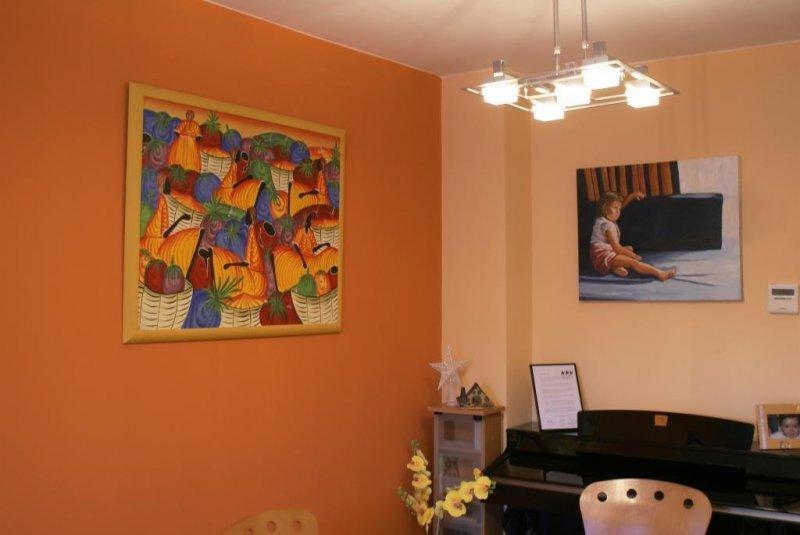 Pintado a dos colores salón