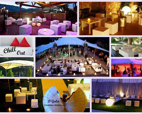 Decoracion chill out