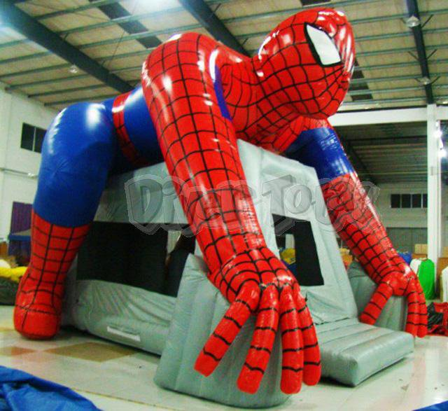 Castillo Hinchable Spiderman