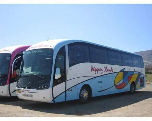 Autobus de hasta 55 plazas
