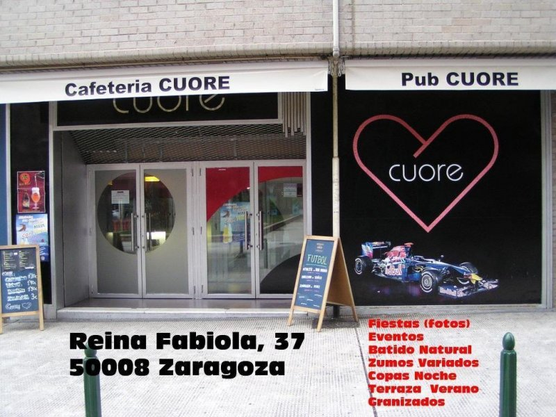CAFETERIA PUB CUORE ZARAGOZA (ENTRADA)