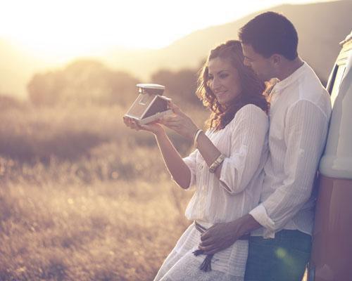 Instantáneas con mucho romanticismo