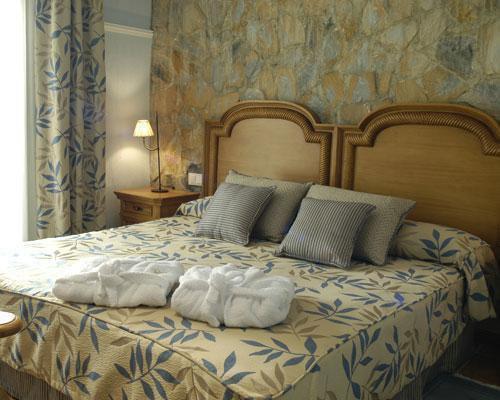 Agradable decoracion en las habitaciones