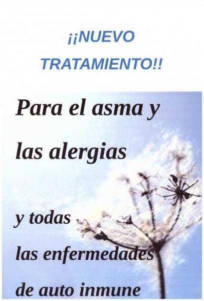 Tratamiento para asma y alergias