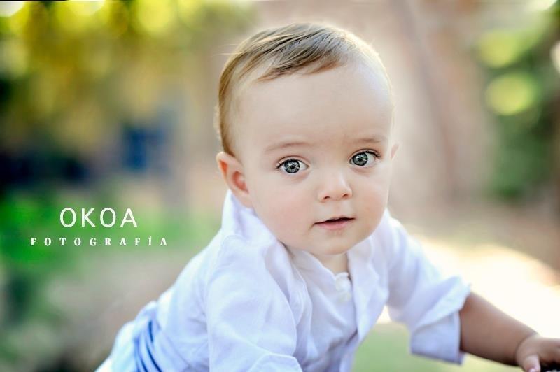Sesión fotográfica bebés - Okoa fotografía