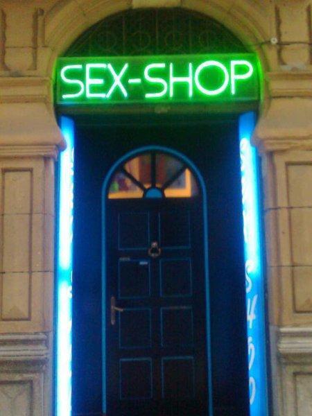entrada de la tienda