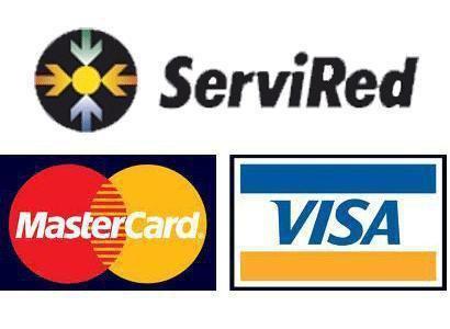 Aceptamos el Pago con Tarjetas Bancarias