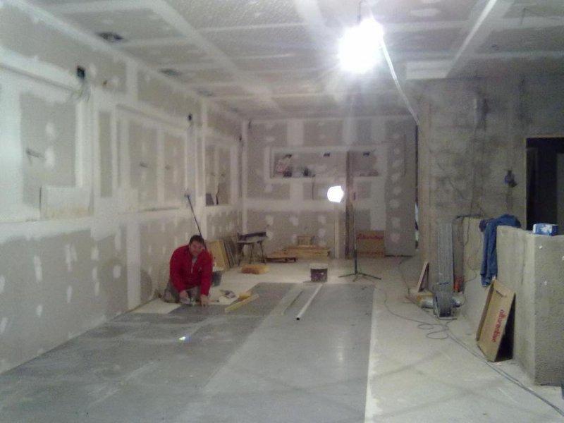 Colocación piso rectificado