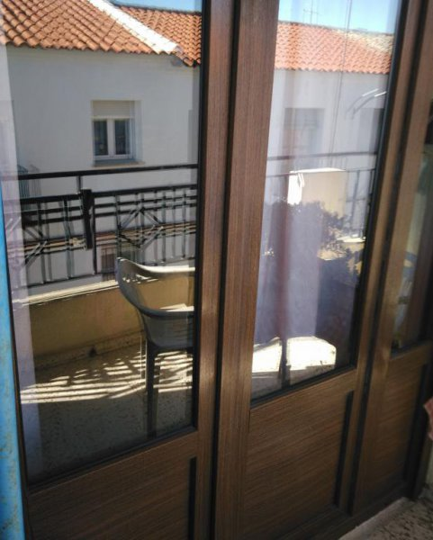 Balcón de PVC  Roble. Daimiel