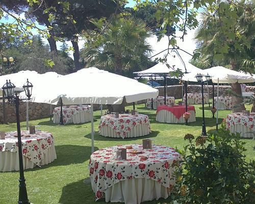 Grandes jardines para la celebracion de la boda