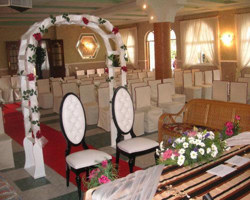 Ceremonia civil en el salon