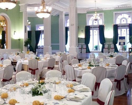 Un gran lugar para una gran boda.