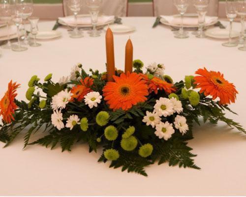 Un bonito centro de mesa