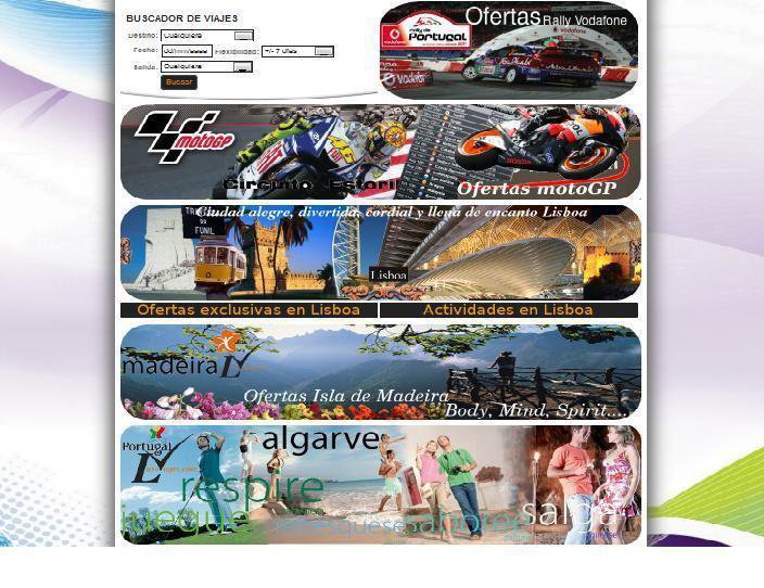 Página Web Lusoviajes