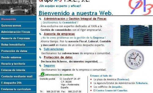 Web de Grupoa3