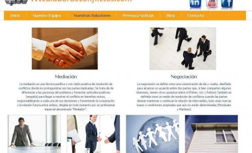 web www.mediadordeconflictos.com
