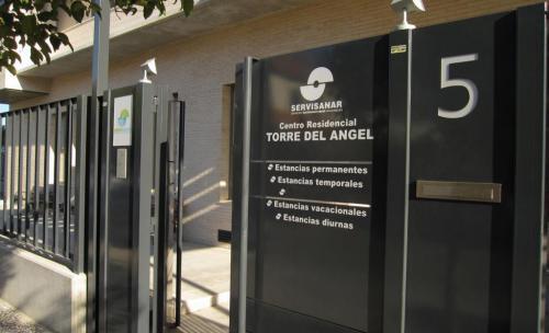 Residencia de ancianos Torre del Ángel - Entrada