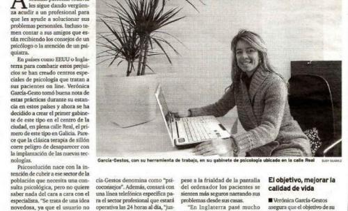 Entrevista a nuestra directora en El Correo Gallego