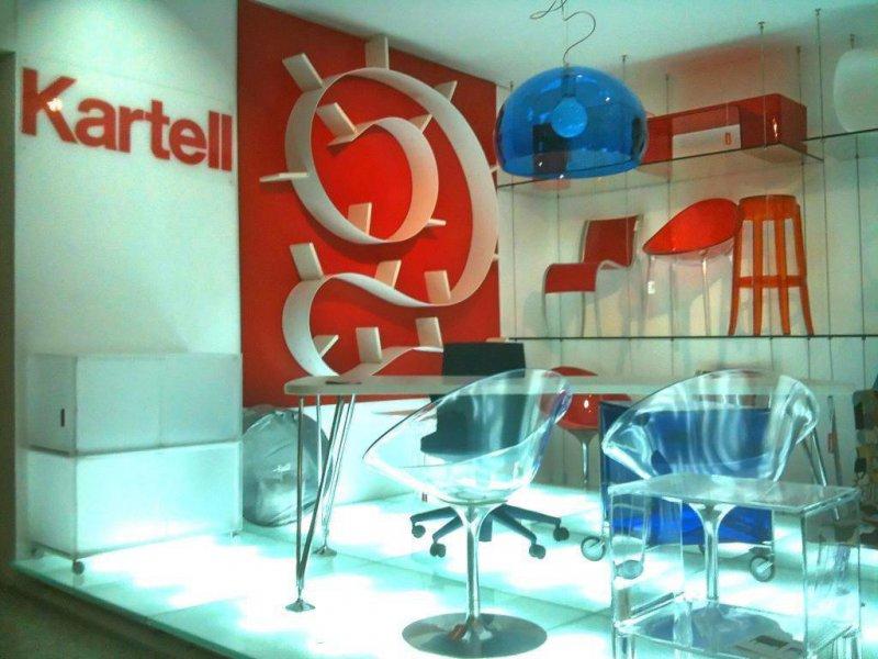 Shop in Shop de la firma Kartell