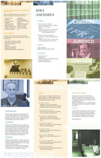IFRA asesores - Tríptico