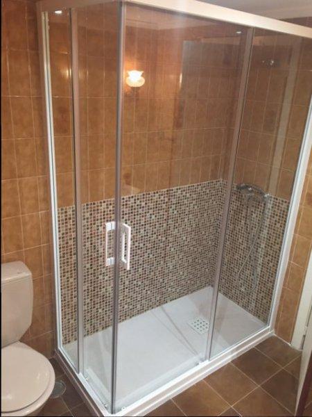 Mismo baño reformado